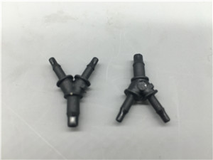 plastic injection Y shape three ways connector
